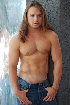 Gay boy long hair muscle