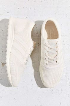 adidas Originals Los Angeles White Running Sneaker - Urban Outfitters