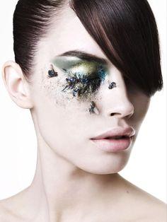 World Sight Day campaign shot by Rankin Rankin Photography, Beauty Photography, Portrait Photography, Creative Photography, Fashion Photography, World Sight Day, Fashion Editorial Makeup, Winter Makeup, Winter Beauty