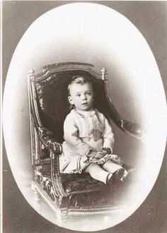 Grand Duke Mikhail Alexandrovich Romanov of Russia as a toddler.A♥W