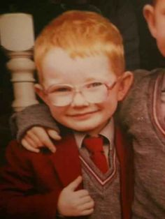 This is what he looked like as a kid. | 21 Cute Facts You Really Ought To Know About Ed Sheeran