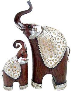 X-Gift Aramani mother and child elephant Showpiece - 31 cm Price in India - Buy X-Gift Aramani mother and child elephant Showpiece - 31 cm online at Flipkart.com
