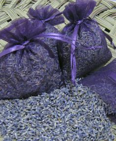 12 Freshly Made Lavender Sachets - Great for teachers & hostess gift, baby shower, party favors (Can Make any Qty in your Color choice)