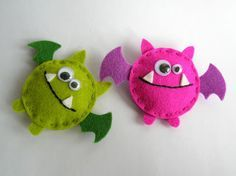 Feltia: Monstruos de fieltro / Felted monsters