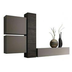 composition murale malaga beige et imitation ch ne miel d co int rieure pinterest. Black Bedroom Furniture Sets. Home Design Ideas