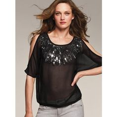 Victoria's Secret Embellished Blouse