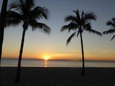 Sonnenaufgang am Strand Fort Lauderdale