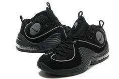 Cheap Hardaway Penny shoes 2012 Nike Air penny II LE Blackout 333886 001