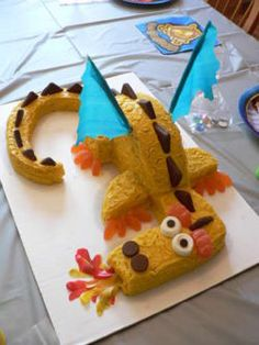How to Make a Fire Breathing Dragon Cake: Step-by-Step Instructions