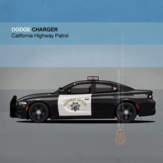 Dodge Charger LD Pursuit Package by Tom Mayer, Monkey Crisis On Mars - Copyright All Rights Reserved. Police Vehicles, Emergency Vehicles, Military Vehicles, Us Police Car, State Police, Dodge Charger Srt, California Highway Patrol, Victoria Police, American Illustration
