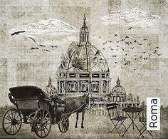Tapete Roma Edition we-are-italyLuca Scarpellini & Alessia Calò