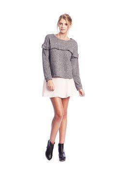 Tully Sweater $179 NZD June Skirt $179 NZD www.makeheartsrace.com