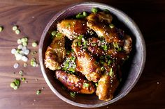 I'll try these, but I don't know if they can beat mine. :)  sticky sesame chicken wings