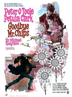 #Sixties | Goodbye, Mr. Chips, starring Peter O'Toole, Petula Clark and Michael Redgrave, 1969