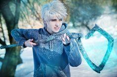 I can defeat fear by densha-otoko.deviantart.com on @deviantART (Jack Frost Cosplay)
