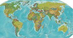 구글 세계지도 고화질 바탕화면 :: 심심스토리