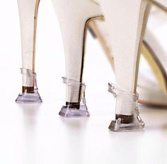 Protect your heels and prevent them from becoming damaged….3 sizes, 1 solution!