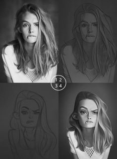 New Drawing Cartoon People Animation Anatomy 52 Ideas Cartoon Drawings Of People, Cartoon People, Drawing People, Digital Painting Tutorials, Digital Art Tutorial, Photo To Cartoon, Cartoon Art, Digital Portrait, Portrait Art