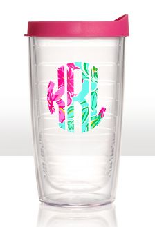 Monogrammed Tervis Tumblers in Lilly Prints $30.00. Love it. Gotta have it!