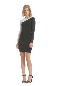 Mesh Contrast Ashanti Sweater Dress