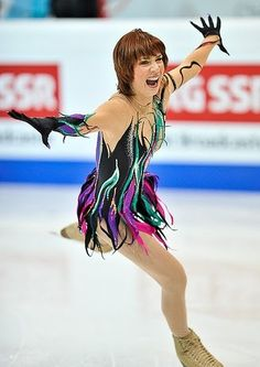 Nick Verreos: Figure Skating Costumes: The World Figure Skating Championships in Moscow: The Ladies!!