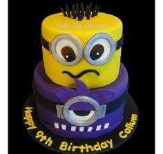 Minion Birthday Cake, Despicable Me Birthday Cake, Minion Cake