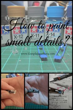 Gunpla 101 - Painting Small Details