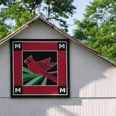 Take a scenic drive to discover these roadside gems--colorful quilt designs painted on barns--and to enjoy the countryside.
