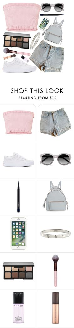 """favourite"" by beautybyee ❤ liked on Polyvore featuring American Apparel, Vans, Ace, MAC Cosmetics, Fendi, Cartier and Smashbox"