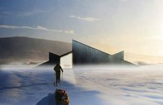 Fantastic Norway's Mountain Hill Cabin is Part Ski Slope, Part Winter Retreat