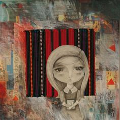 Drawing, Textile & Collage.