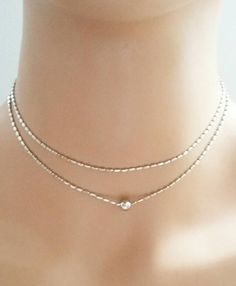 Check out this item in my Etsy shop https://www.etsy.com/listing/471610340/delicate-silver-necklacelayered