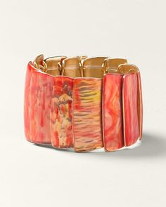 Enamel Stretch Bracelet  #ColdwaterCreek