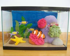 Plush fishtank?! I may just have to make this!