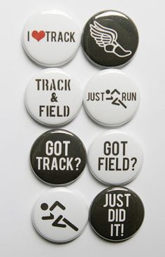 Track and Field Flair on Etsy, $6.00