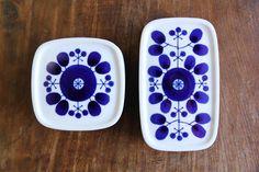白山陶器 OK can't read Japanese, but these remind me of the vintage ceramics in Helsinki