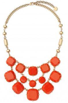 Stella and dot Olivia bib necklace
