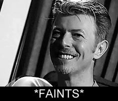 "wingedbelievereagle: "" speedydeerchaos: ""David being goofy.  "" MAKES ME FAINT   """