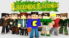 Minecraft: MINI-GAME DO ESCONDE-ESCONDE! - YouTube Youtubers, Minecraft, Games, Vivo, Peek A Boos, Stones, Home, Pictures, Plays