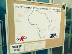 Student-run charity organisation Karnival is attempting to cycle from Luanda to Zanzibar for Red Nose Day.