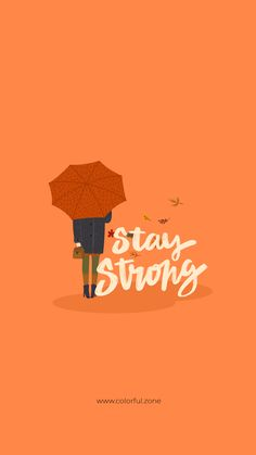 Just stay strong every thing will be ok Kawaii Wallpaper, Pastel Wallpaper, Cute Wallpaper Backgrounds, Wallpaper Iphone Cute, Cartoon Wallpaper, Wallpaper Samsung, Pretty Quotes, Cute Quotes, Happy Quotes