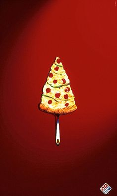 When Christmas time comes, there are just ads everywhere. Christmas season is a perfect time for your marketing or product promotion, and creative advertising design can easily stand out and catch people's eyes at the first time. Creative Advertising, Ads Creative, Advertising Design, Advertising Ideas, Advertising Pictures, Advertising Campaign, Christmas Pizza, Noel Christmas, Christmas Print
