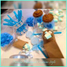 Baby shower in Blue