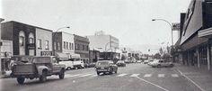 Rutland Road, (Hiway 33) Rutland, B.C. around 1950 judging by the vehicles