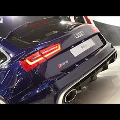Audi RS 6 Estorilblue