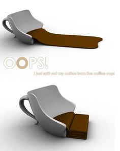 Chair Pads For Office Chairs Code: 9544716336 Chair Pads, Sofa Chair, Upholstered Chairs, Chair Cushions, Coffee Time, Coffee Cups, Coffee Break, Coffee Coffee, Weird Furniture