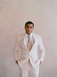 for my guy.   suit is hugo boss courtesy of kleinfeld men's. photo by @Elizabeth Messina #stylemywedding