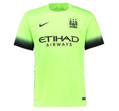 Manchester City Jersey 2015/16 Away Third Soccer Shirt