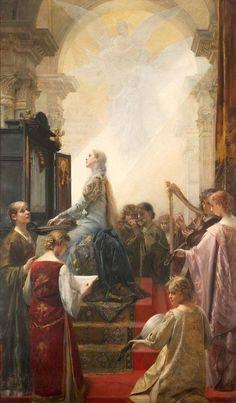 Saint Cecilia - Eduard Veith