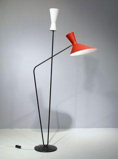 stilnovo-arteluce-lamp-floor lighting vintage italian industrial